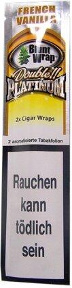 Blunt Wrap French Vanilla - 2 Blunts in 1 Tube