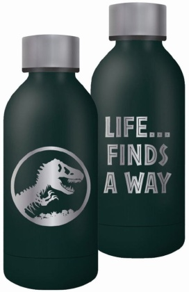 Jurassic Park: Life Finds A Way - Water Bottle (Metal)
