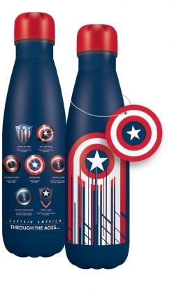 Marvel: Captain Americas Shield - Water Bottle (Metal)