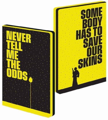 Star Wars: Never Tell Me the Odds - A5 Notebook