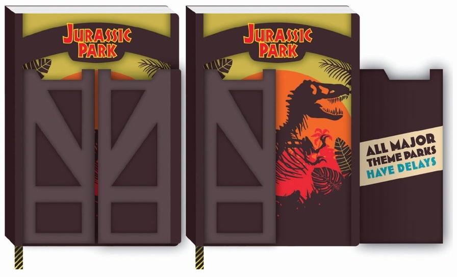 Jurassic Park: Gates - A5 Notebook