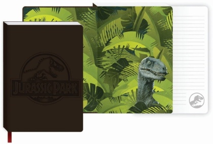 Jurassic Park: Velociraptor - A5 Notebook (PU Covered)