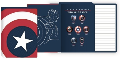 Marvel: Captain Americas Shield - A5 Notebook