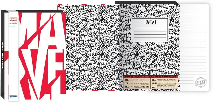 Marvel: Logo - A5 Notebook