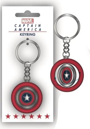 Marvel: Captain Americas Shield - Keyring (Header)