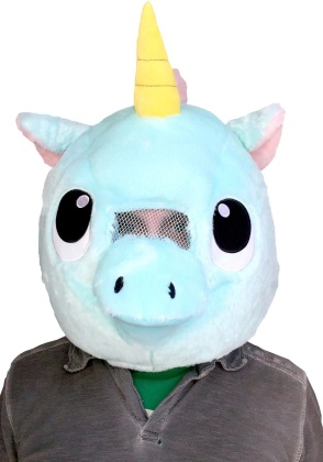 Kigurumi - Unicorn - Big Fat Head