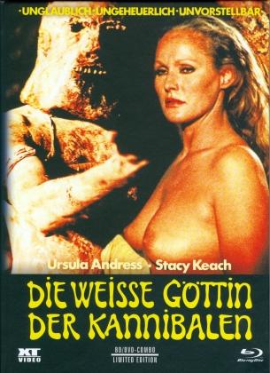 Die weisse Göttin der Kannibalen (1978) (Cover A, Limited Edition, Mediabook, Blu-ray + DVD)