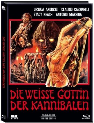Die weisse Göttin der Kannibalen (1978) (limti, Cover B, Mediabook, Blu-ray + DVD)