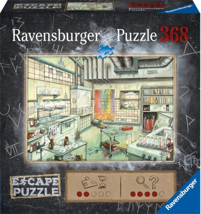 Das Labor - 368 Teile Escape Puzzle