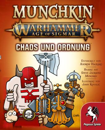 Munchkin Warhammer Age of Sigmar - Chaos & Ordnung Erweiterung