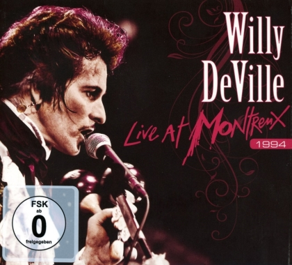 Willy Deville - Live At Montreux 1994 (2021 Reissue, Ear Music, CD + DVD)