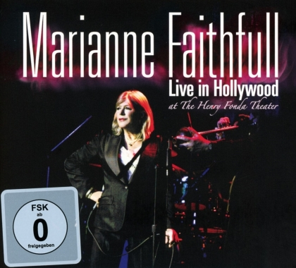 Marianne Faithful - Live In Hollywood (CD + DVD)