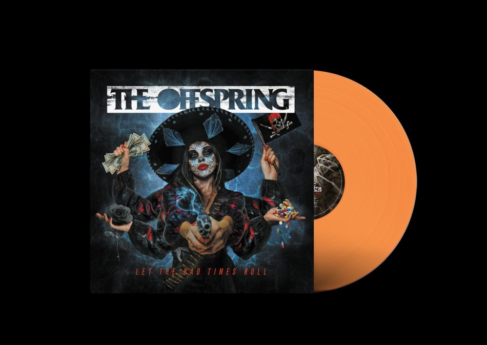 The Offspring - Let The Bad Times Roll (Limited, Orange/Clear Vinyl, LP)