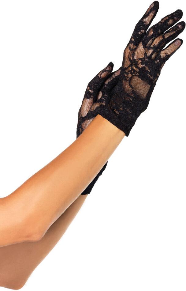 Wrist Length Stretch Gloves - Grösse Onesize