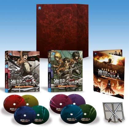 L'attaque des Titans - Saison 1 (Limited Collector's Edition, 4 Blu-rays + 4 DVDs)
