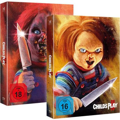 Chucky 2 & 3 (Piece of Art Box, Limited Edition, 2 Blu-rays)