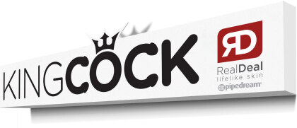 King Cock Promo 3D Sign