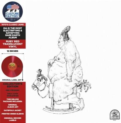Rare Earth - Ma (2021 Reissue, Culture Factory, Red Translucent Vinyl, LP)