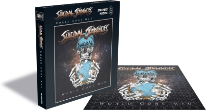 Suicidal Tendencies - World Gone Mad (500 Piece Jigsaw Puzzle)