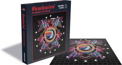 Hawkwind - In Search Of Space (500 Piece Jigsaw Puzzle)