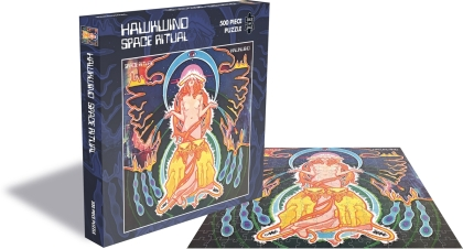 Hawkwind - Space Ritual (500 Piece Jigsaw Puzzle)