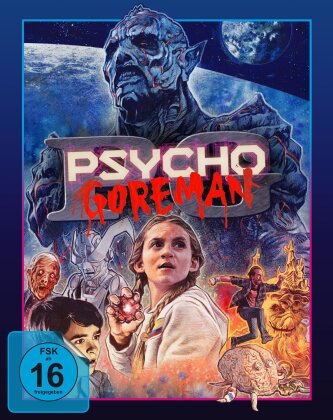 Psycho Goreman (2020) (Cover C, Limited Edition, Mediabook, Blu-ray + DVD)