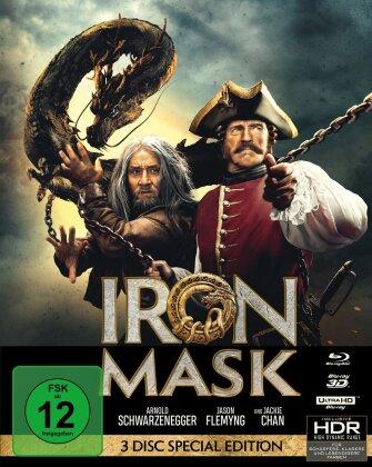 Iron Mask (2019) (Mediabook, 4K Ultra HD + Blu-ray 3D + 2 Blu-rays)