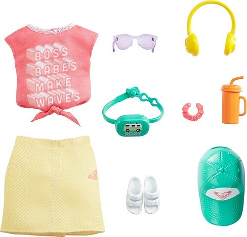 Barbie - Fashion Inspired By Roxy Pack Pink Graffit Tee &