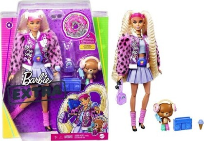 Barbie - Barbie Extra Doll Blonde With Pigtails