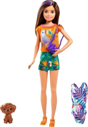 Barbie - Barbie Chelsea The Lost Birthday Stacie And Pet