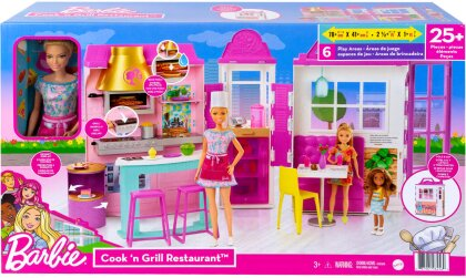 Barbie - Barbie Restaurant With Doll