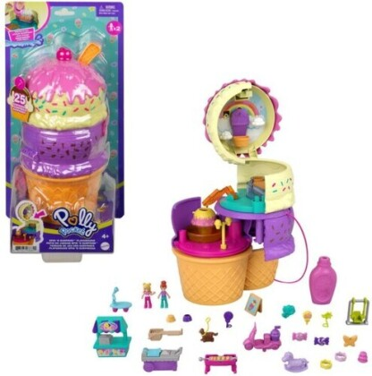 Polly Pocket Spin And Reveal Ice Cream