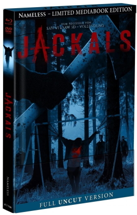 Jackals (2017) (Cover B, Limited Edition, Mediabook, Uncut, Blu-ray + DVD)