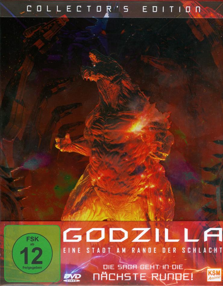 Godzilla: Eine Stadt am Rande der Schlacht (2018) (Schuber, Digipack, Collector's Edition)