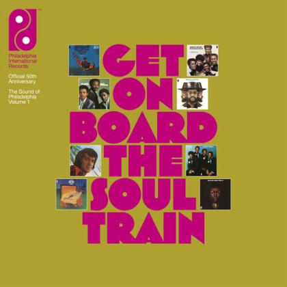 Get On Board The Soul Train Vol 1 (8 CDs + LP)