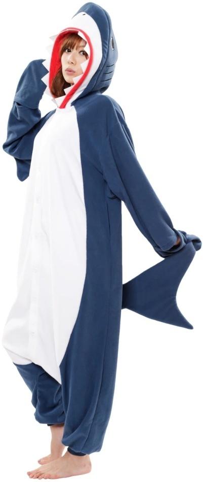 Kigurumi - Haifisch XL