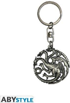ABYstyle - Game of Thrones - Targaryen 3D-Schlüsselanhänger
