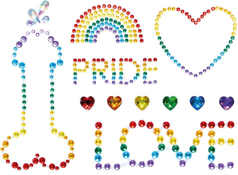 Pride Bodyjewels Sticker