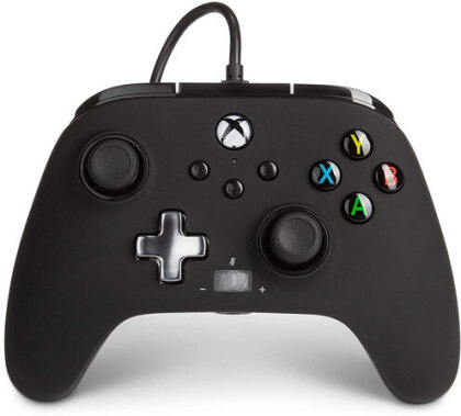 XBOX Series X Controller Enhanced Wired BLACK POWER A offiziell lizenziert