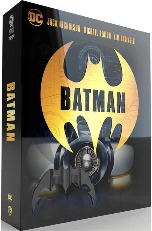 Batman (1989) (+ Goodies, Titans of Cult, Limited Edition, Steelbook, Blu-ray + 4K Ultra HD)
