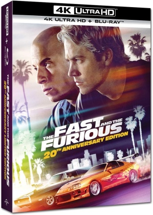 The Fast and the Furious (2001) (Limited Collector's Edition, Steelbook, 4K Ultra HD + Blu-ray)