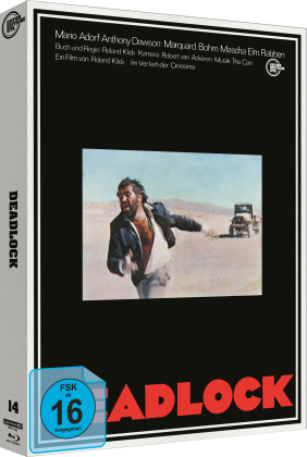 Deadlock (1970) (Edition Deutsche Vita, Cover B, Limited Edition, 4K Ultra HD + Blu-ray)