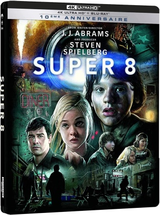 Super 8 (2011) (Édition 10ème Anniversaire, Édition Limitée, Steelbook, 4K Ultra HD + Blu-ray)