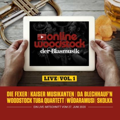Online Woodstock Der Blasmusik Live Vol.1