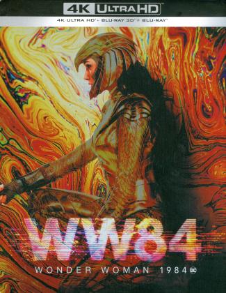 Wonder Woman 1984 (2020) (Limited Edition, Steelbook, 4K Ultra HD + Blu-ray 3D + Blu-ray)