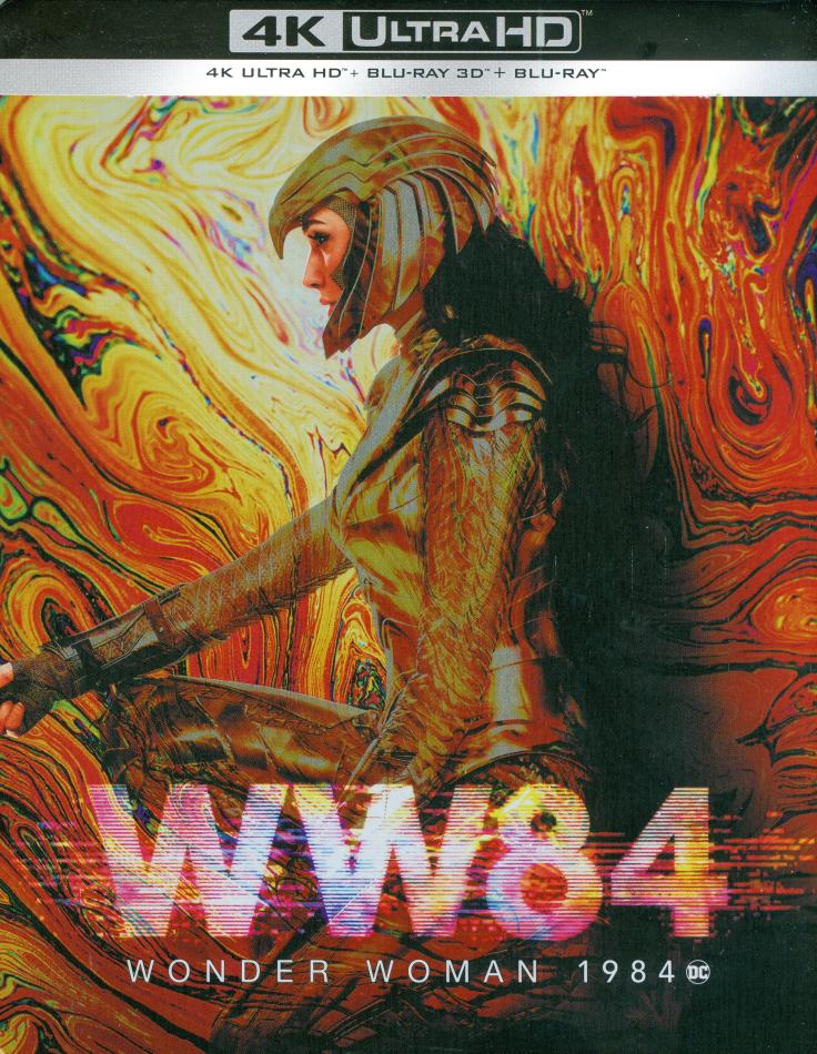 Wonder Woman 1984 - Wonder Woman 2 (2020) (Limited Edition, Steelbook, 4K Ultra HD + Blu-ray 3D + Blu-ray)