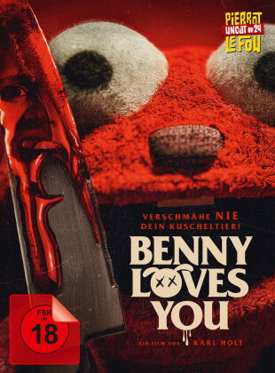 Benny Loves You (2019) (Limited Edition, Mediabook, Uncut, Blu-ray + DVD)