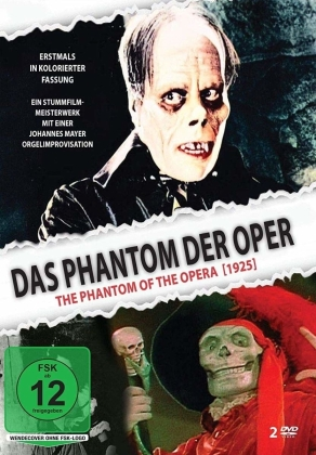 Das Phantom der Oper - In kolorierter Fassung (1925) (2 DVDs)