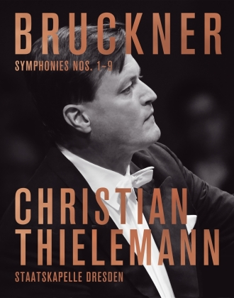 Thielemann & Staatskapelle Dresden - Bruckner - Symphonies Nos. 1-9 (9 Blu-rays)