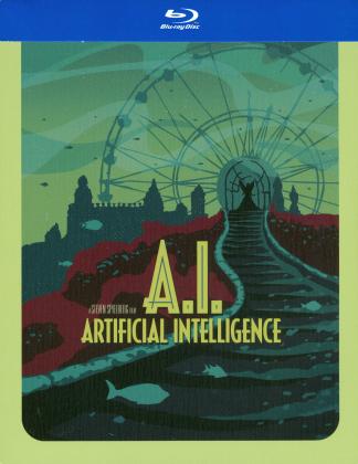 A.I. - Artificial intelligence (2001) (Édition Limitée, Steelbook)
